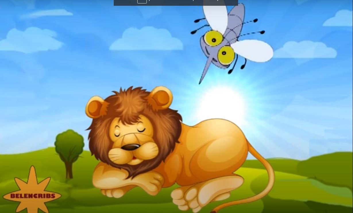 El león y el mosquito