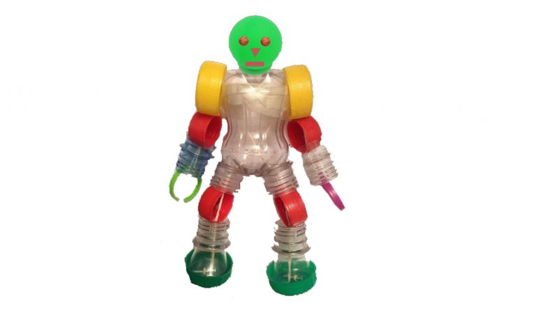 Robot recicle
