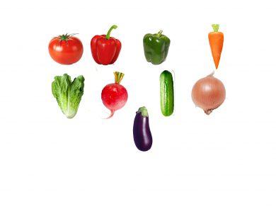 La competición de las verduras, por Belencribs