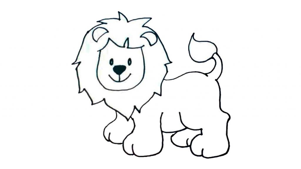 dibujar-un-leon