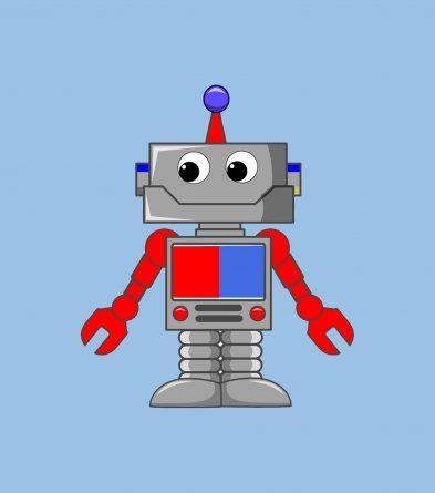 Robotín un robot pequeñín, porBelencribs
