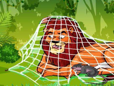 El león y el raton fabula sobre la generosidad y la bondad