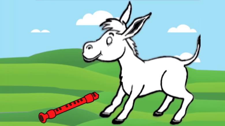 El burro y la flauta