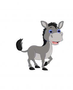 el burro ya flauta - un burrito