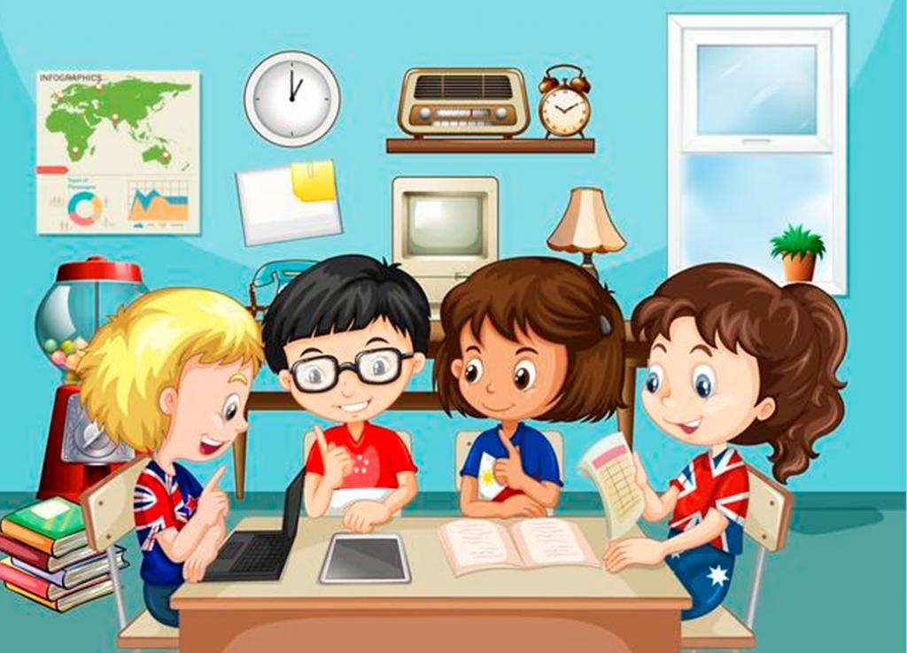 Cuentos infantiles en clase y familia