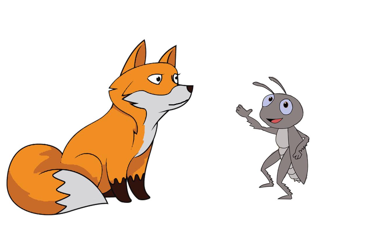 El zorro y el grillo