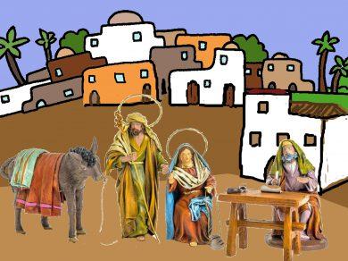 El empadronamiento de María y José