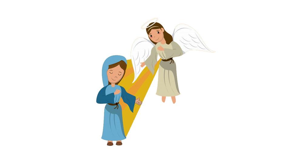 Cuento de navidad: La Anunciación