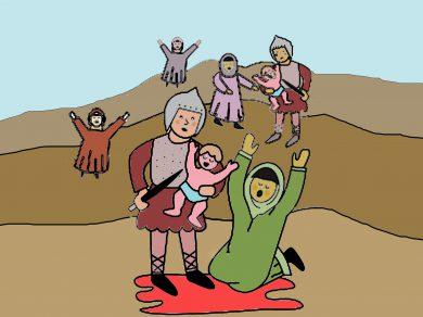 La matanza de los niños inocentes