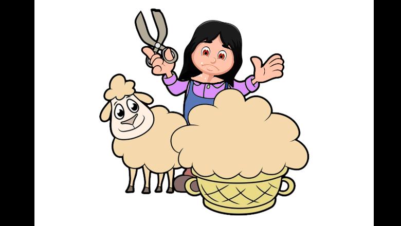 🐑 La viuda y la oveja. Un cuento con moraleja 👩