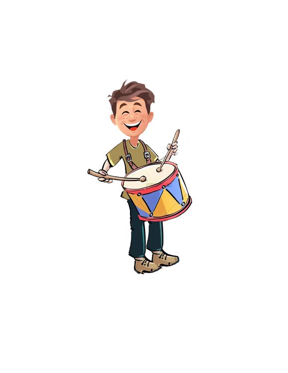 🥁 El tamborilero mágico. Un cuento que habla de la bondad 